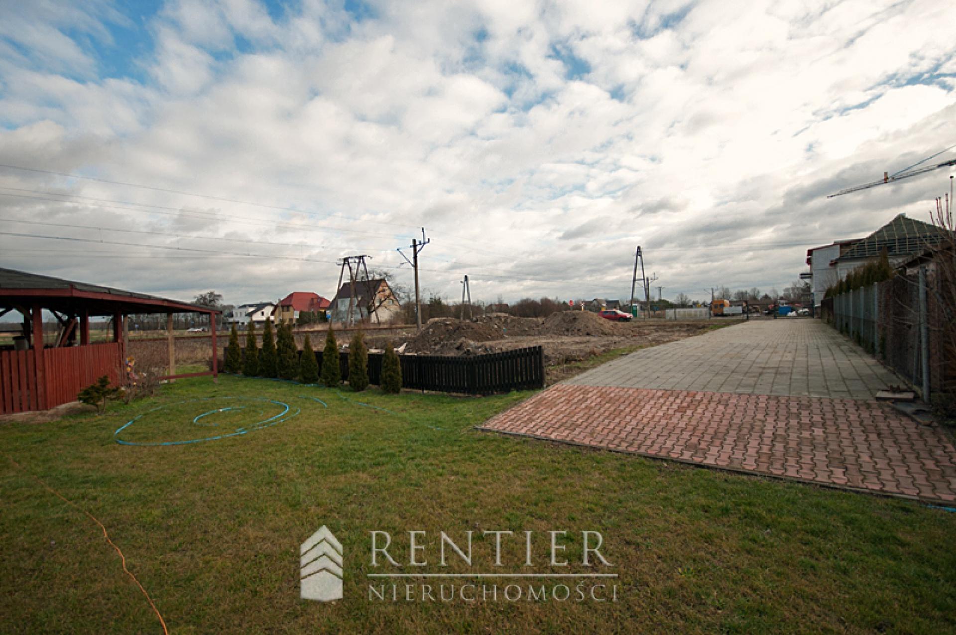 Land plot for housing estate